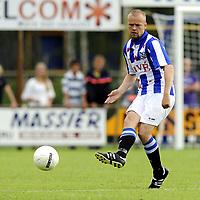 Fotball<br /> Nederland<br /> Foto: Proshots/Digitalsport<br /> NORWAY ONLY<br /> <br /> voetbal fc zwolle - sc heerenveen 17-07-2010 oefenwedstrijd seizoen 2010-2011 christian grindheim