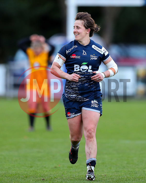 Katy Daley-McLean of Sale Sharks Women  - Mandatory by-line: Nick Browning/JMP - 12/12/2020 - RUGBY - CorpAcq Stadium  - Sale, England - Sale Sharks Women v Wasps FC Ladies - Allianz Premier 15s