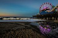 Santa Monica Pier<br /> Santa Monica, California