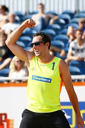 20150830 NED: NK Beachvolleybal 2015, Scheveningen<br />Daan Spijkers