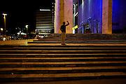 Central Tirana street scene