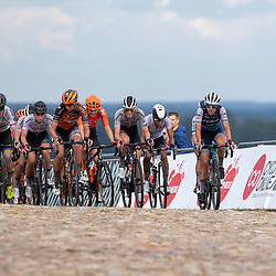 22-08-2020: Wielrennen: NK vrouwen: Drijber<br /> Lucinda Brand (Netherlands / Team Trek Segafredo Women), Demi Vollering (Netherlands / Team Parkhotel Valkenburg)Annemiek Van Vleuten (Netherlands / Team Mitchelton Scott), Chantal van den Broek - Blaak (Netherlands / Boels - Dolmans Cycling Team)