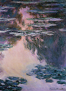 Claude Monet  (1840 – 1926) French impressionist  artist,  Water-Lilies