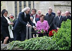 Robin Gibb funeral 8-6-12