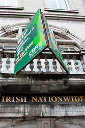 Irish Nationwide  © London News Pictures 10/01/2011..Irish Prime Minister Brian Cowen is under pressure over his relationship with former Anglo Irish Bank chairman Sen FitzPatrick. Anglo Irish Bank was taken into state ownership in January 2009 and is the largest contributor of assets to the Irish National Asset Management Agency. Picture caption should read Simon Lamrock/LNP