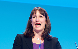 Labour Party Conference.<br /> Shadow Pensions Minister Rachel Reeves MP during the Labour Annual Conference at the Brighton Conference Centre, Brighton, United Kingdom. Monday, 23rd September 2013. Picture by Elliot Franks / i-Images