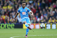 Junior Stanislas of Bournemouth taking a free kick. Premier league match, Watford v AFC Bournemouth at Vicarage Road in Watford, London on Saturday 1st October 2016.<br /> pic by John Patrick Fletcher, Andrew Orchard sports photography.