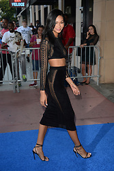 August 16, 2017 - New York, NY, USA - August 16, 2017  New York City..Chanel Iman attending the 'The Tick' TV show premiere on August 16, 2017 in New York City. (Credit Image: © Kristin Callahan/Ace Pictures via ZUMA Press)