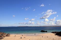 Porthgwidden beach, St Ives, Cornwall UK Oct 2020