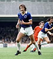 Frank Worthington (Leicester City) Leicester City v Liverpool. 1/9/73 Credit : Colorsport.