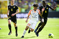 May 6, 2018 - Nantes, France, France - Keagan Dolly (Montpellier) vs RONGIER Valentin (Nantes) /  TOURE Abdoulaye  (Credit Image: © Panoramic via ZUMA Press)