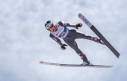 21.02.2019, Bergiselschanze, Innsbruck, AUT, FIS Weltmeisterschaften Ski Nordisch, Seefeld 2019, Nordische Kombination, Skisprung, Training, im Bild Jan Hoerl (AUT) // Jan Hoerl of Austria during a training of Ski Jumping competition for Nordic Combined of FIS Nordic Ski World Championships 2019. Bergiselschanze in Innsbruck, Austria on 2019/02/21. EXPA Pictures © 2019, PhotoCredit: EXPA/ JFK