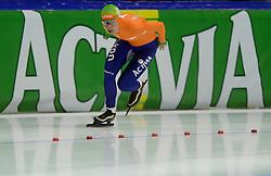 09-03-2013 SCHAATSEN: FINAL ISU WORLD CUP: HEERENVEEN<br /> NED, Speedskating Final World Cup Thialf Heerenveen / Diane Valkenburg pakt zilver op de 3000 meter<br /> ©2013-FotoHoogendoorn.nl