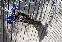 02.09.2012, Bikepark, Leogang, AUT, UCI, Mountainbike und Trial Weltmeisterschaften, MEN Elite, Downhill, im Bild Lorenzo Suding (ITA) // during UCI Mountainbike and Trial World Championships, MEN Elite, Downhill at the Bikepark, Leogang, Austria on 2012/09/02. EXPA Pictures © 2012, PhotoCredit: EXPA/ Juergen Feichter