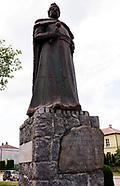 Płonka Kościelna. Pomnik króla Jana Sobieskiego