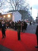 Angelina Jolie, Arriving for the Baftas, Leicester Sq. 23  February 2003. © Copyright Photograph by Dafydd Jones 66 Stockwell Park Rd. London SW9 0DA Tel 020 7733 0108 www.dafjones.com