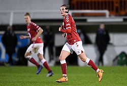 Chloe Logarzo of Bristol City Women - Mandatory by-line: Ryan Hiscott/JMP - 13/01/2021 - FOOTBALL - Twerton Park - Bath, England - Bristol City Women v Aston Villa Women - FA Continental Cup quarter final