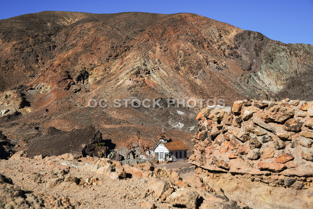 Old Church at Calico Ghost Town