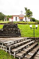 Praça Municipal e Igreja Matriz. Flor do Sertão, Santa Catarina, Brasil. / <br /> Municipal Square and Mother Church. Flor do Sertão, Santa Catarina, Brazil.