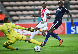 Cape Town-180411 Ajax Cape Town Yannick Zakri scores against Wits  in a PSL match played at Athlone stadium.photographer:Phando Jikelo/African News Agency/ANA