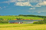 Coastal village<br />French River<br />Prince Edward Island<br />Canada