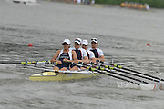 Amsterdam, HOLLAND, GBR W4X, at  the start,  at the 2007 FISA World Cup Rd 2 at the Bosbaan Regatta Rowing Course. [Date] [Mandatory Credit: Peter Spurrier/Intersport-images]..... , Rowing Course: Bosbaan Rowing Course, Amsterdam, NETHERLANDS