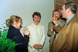 De Reys Edith, Helmut Lotti, Wauters Eric, Mais Paul<br /> Vlaanderens Kerst Jumping Mechelen 1993<br /> © Hippo Foto - Dirk Caremans<br /> 15/12/2020