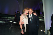 JULIA PEYTON-JONES; DAVID ROSS, Donors dinner hosted by Michael Bloomberg & Graydon Carter to celebrate the launch of the new Serpentine Sackler Gallery designed by Zaha Hadid . Kensinton Gdns. London. 24 September 2013