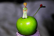Figurine of The Little Prince (Le Petit Prince), by Antoine de Saint-Exupery