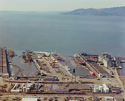 ackroyd-C02116-1 Port of Astoria and new bridge. April 19, 1966
