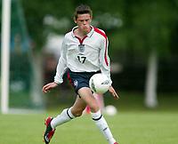 Fotball 30. juli 2003, Åpent nordisk mesterskap G.17. Danmark V England 3-0,  Richard Stearman, England