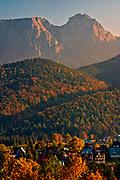 Widok na Giewont, Tatry, Polska<br /> View of Giewont, Tatra Mountains, Poland