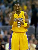 NBA-Sacramento Kings at Los Angeles Lakers-Mar 24, 2004