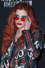 Bella Thorne arrives at Knott's Scary Farm - 30 Sep 2017