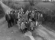 Cordal residents Castleisland have road concerns in 1990.<br /> Now & Then - MacMONAGLE photo archives.<br /> Picture by Don MacMonagle -macmonagle.com<br /> Facebook - @killarneynowandthen