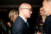 TOBY YOUNG, Launch of Nicky Haslam's book Redeeming Features. Aqua Nueva. 5th floor. 240 Regent St. London W1.  5 November 2009.  *** Local Caption *** -DO NOT ARCHIVE-© Copyright Photograph by Dafydd Jones. 248 Clapham Rd. London SW9 0PZ. Tel 0207 820 0771. www.dafjones.com.<br /> TOBY YOUNG, Launch of Nicky Haslam's book Redeeming Features. Aqua Nueva. 5th floor. 240 Regent St. London W1.  5 November 2009.