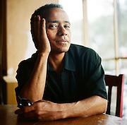 NEW ORLEANS, LA – OCTOBER 28, 2009: Portrait of New Orleans jazz vocalist John  Boutte.