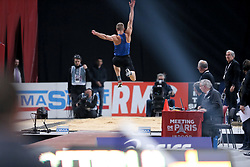February 7, 2018 - Paris, Ile-de-France, France - Athlete competes during the Athletics Indoor Meeting of Paris 2018, at AccorHotels Arena (Bercy) in Paris, France on February 7, 2018. (Credit Image: © Michel Stoupak/NurPhoto via ZUMA Press)