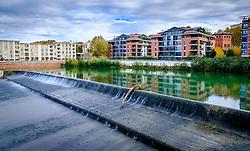 The Garonne River in Toulouse, France<br /> <br /> (c) Andrew Wilson   Edinburgh Elite media