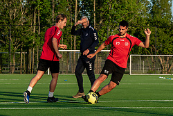 The national government has decided that sports can be restarted from Wednesday 29 April for the youth, under strict conditions and for a limited number of groups. VV Maarssen goes along with this, but uses an extra strict protocol. Today was the start of saturday 1 at sports park Daalseweide, 20 May 2020 in Maarssen