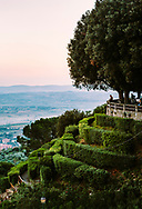 At the town plaza watching sunset. Cortona, Italy. ©CiroCoelho.com. All Rights Reserved.