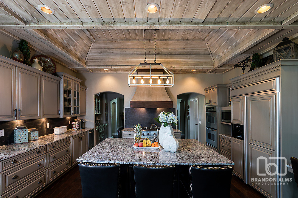 A rustic kitchen photo by Brandon Alms Photography