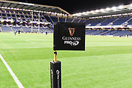 BT Murrayfield Stadium before the Guinness Pro 14 2018_19 match between Edinburgh Rugby and Scarlets at BT Murrayfield Stadium, Edinburgh, Scotland on 2 November 2018.