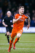 Luton Town forward James Collins during the EFL Sky Bet League 1 match between Luton Town and Wycombe Wanderers at Kenilworth Road, Luton, England on 9 February 2019.