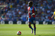 Pape N'Diaye Souare of Crystal Palace in action. Barclays Premier league match, Crystal Palace v Aston Villa at Selhurst Park in London on Saturday 22nd August 2015.<br /> pic by John Patrick Fletcher, Andrew Orchard sports photography.