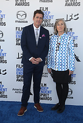 February 8, 2020, Los Angeles, California, United States: 2020 Film Independent Spirit Awards held at Santa Monica Pier..Featuring: Josh Welsh, Mary Sweeney.Where: Los Angeles, California, United States.When: 08 Feb 2020.Credit: Faye's VisionCover Images (Credit Image: © Cover Images via ZUMA Press)