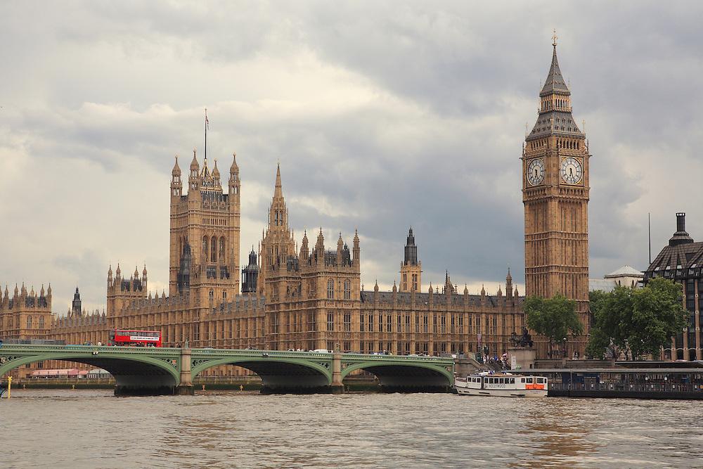 Parliment And Bridge View - London, UK