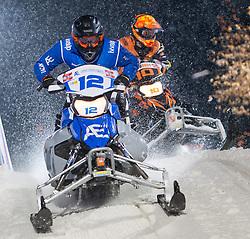 07.12.2014, Saalbach Hinterglemm, AUT, Snow Mobile, im Bild Team Ebner Event Logistics // during the Snow Mobile Event at Saalbach Hinterglemm, Austria on 2014/12/07. EXPA Pictures © 2014, PhotoCredit: EXPA/ JFK