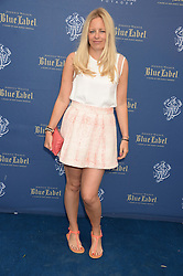 The Johnnie Walker Blue Label and David Gandy Drinks Reception aboard John Walker & Sons Voyager, St.Georges Stairs Tier, Butler's Wharf Pier, London, UK on 16th July 2013.<br /> Picture Shows:-Astrid Harbord.