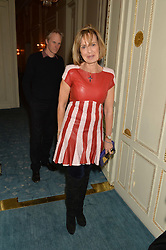 COUNTESS MAYA VON SCHONBURG ZU GLAUCHAU & WALDENBURG at a party to celebrate the publication of The Romanovs 1613-1918 by Simon Sebag-Montefiore held at The Mandarin Oriental, 66 Knightsbridge, London on 2nd February 2016.